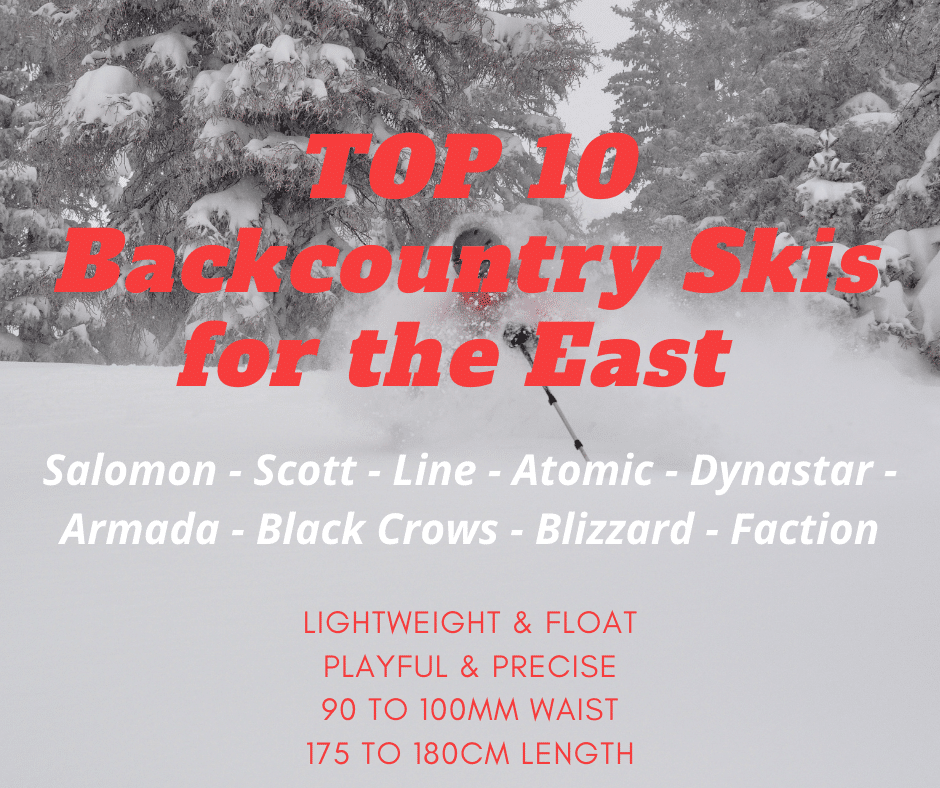 Top 10 lightweight backcountry skis with good float – Part 2